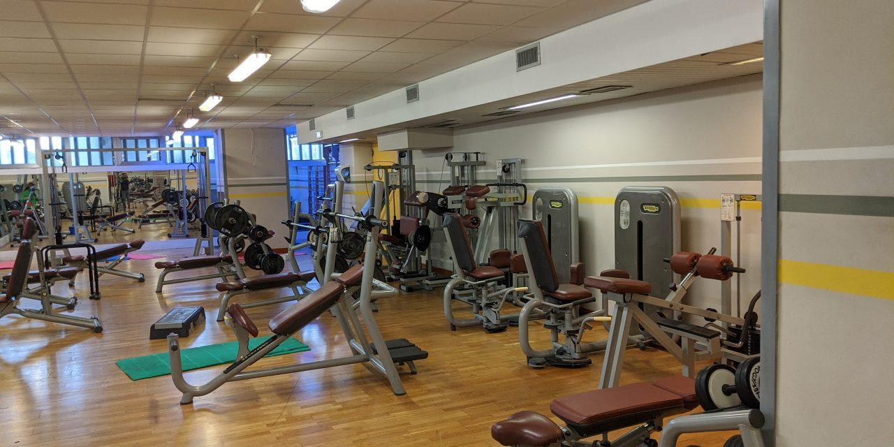 Riapetura Sala Fitness dal 6 Luglio
